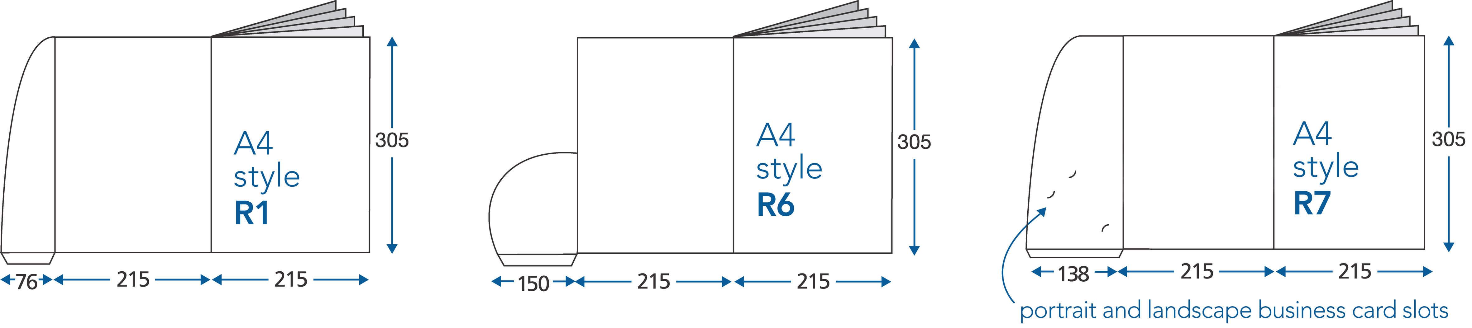 how to supply presentation folder files