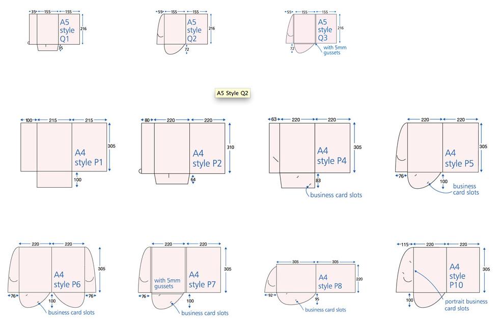 how to supply presentation folder files | marqetspace uk, Presentation templates